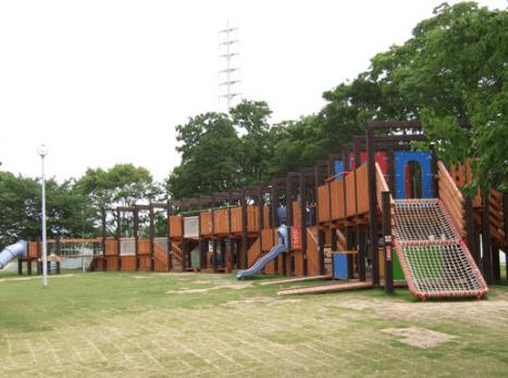大泉緑地公園の冒険ランド3