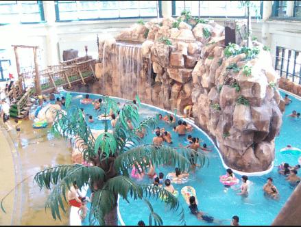 鶴見緑地屋内プール(流水プール)